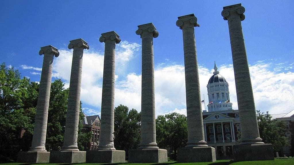 Jesse Hall and the Columns University of Missouri panoramio