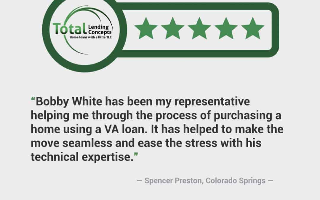 Spencer Preston Colorado Springs VA Home Loan