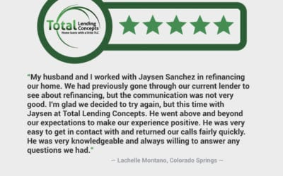Lachelle Montano Colorado Springs Colorado Home Loan