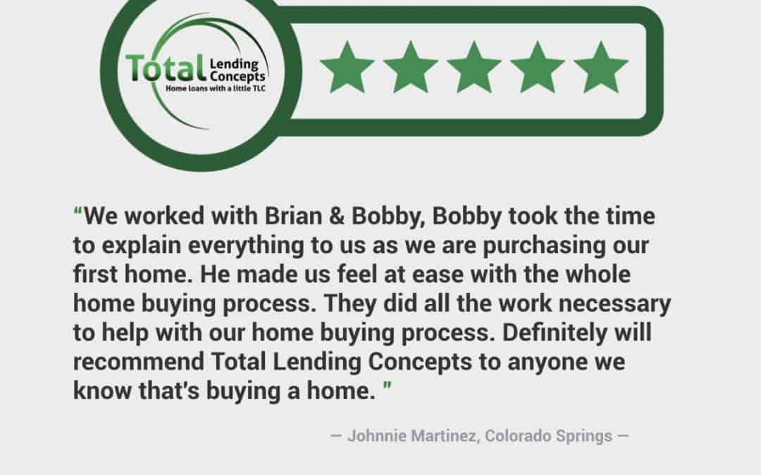 Johnnie Martinez Colorado Springs Home Loan