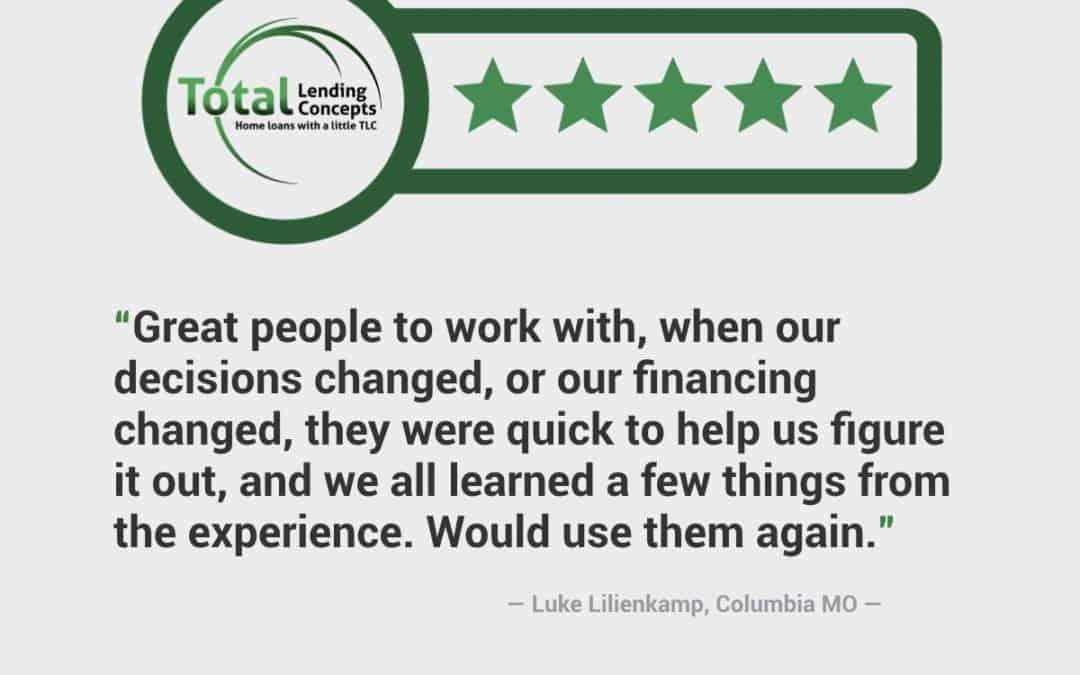 Luke Lilienkamp Columbia Missouri Home Loan