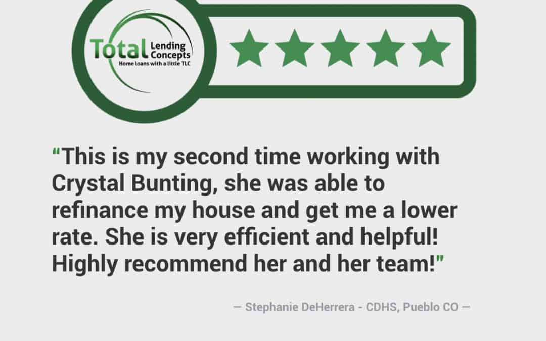 Stephanie DeHerrera in Pueblo West Colorado Home Loan